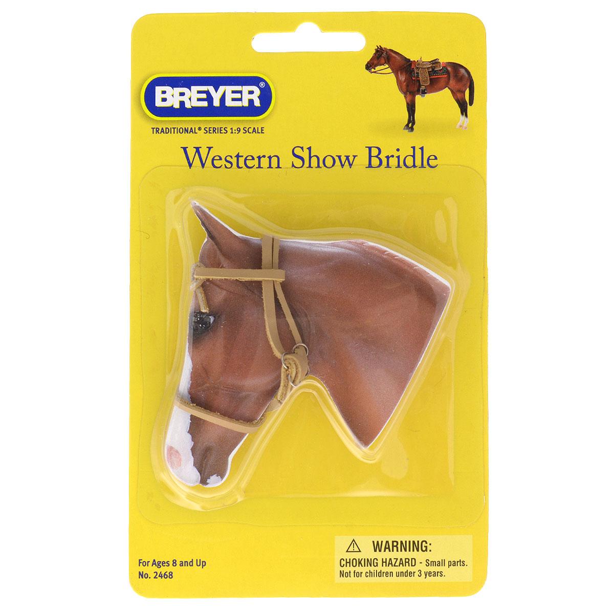 Breyer Регулируемая уздечка «Western Show Bridle»