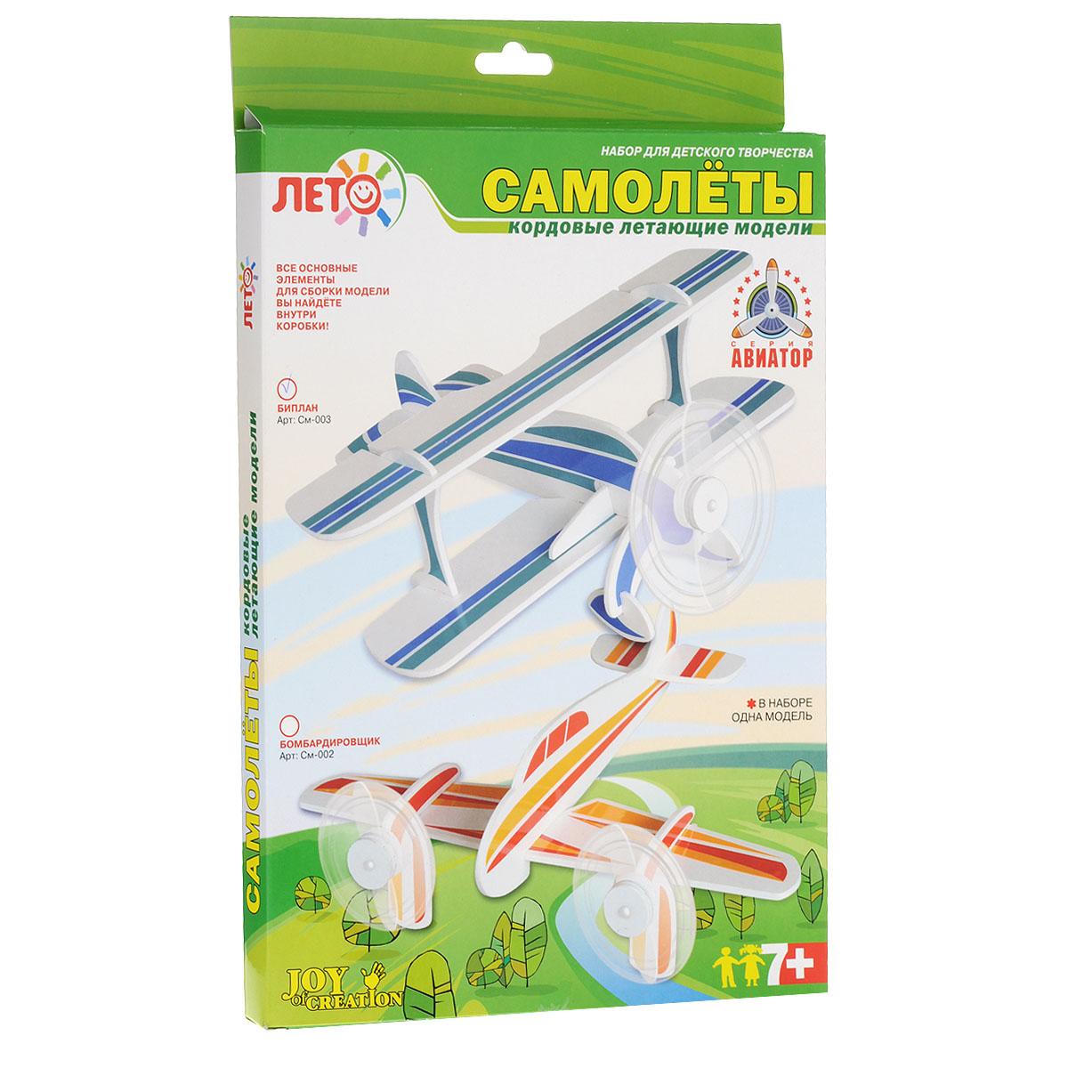 Сборная модель летающего самолета Lori