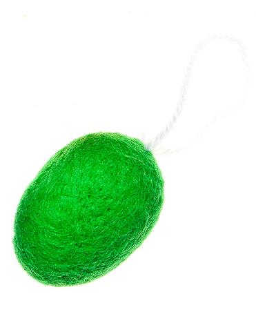 Пасхальное подвесное украшение Home Queen Мягкость, цвет: зеленый64417_4Пасхальное подвесное украшение Home Queen Мягкость изготовлено из пенопласта, декорировано мягкой однотонной шерстью и оснащено петелькой для подвешивания. Такое украшение прекрасно оформит интерьер дома или станет замечательным подарком для друзей и близких на Пасху.