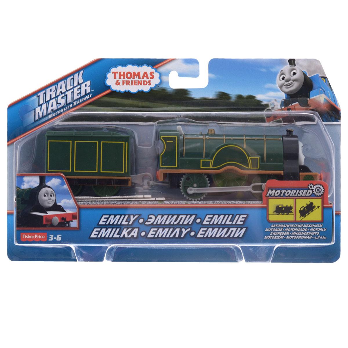 Thomas&Friends Базовый паровозик Эмили, цвет: темно-зеленыйBMK87_CDB69