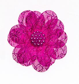 Набор декоративных украшений Home Queen Цветы, на клейкой основе, цвет: пурпурный, 6 шт64512_1Набор Home Queen Цветы состоит из шести декоративных элементов и предназначен для украшения яиц, посуды, стекла, керамики, металла, цветочных горшков, ваз и других предметов интерьера. Украшения изготовлены из полиэстера в виде цветов и фиксируются при помощи специальной клейкой основы. Такой набор украшений создаст атмосферу праздника в вашем доме.