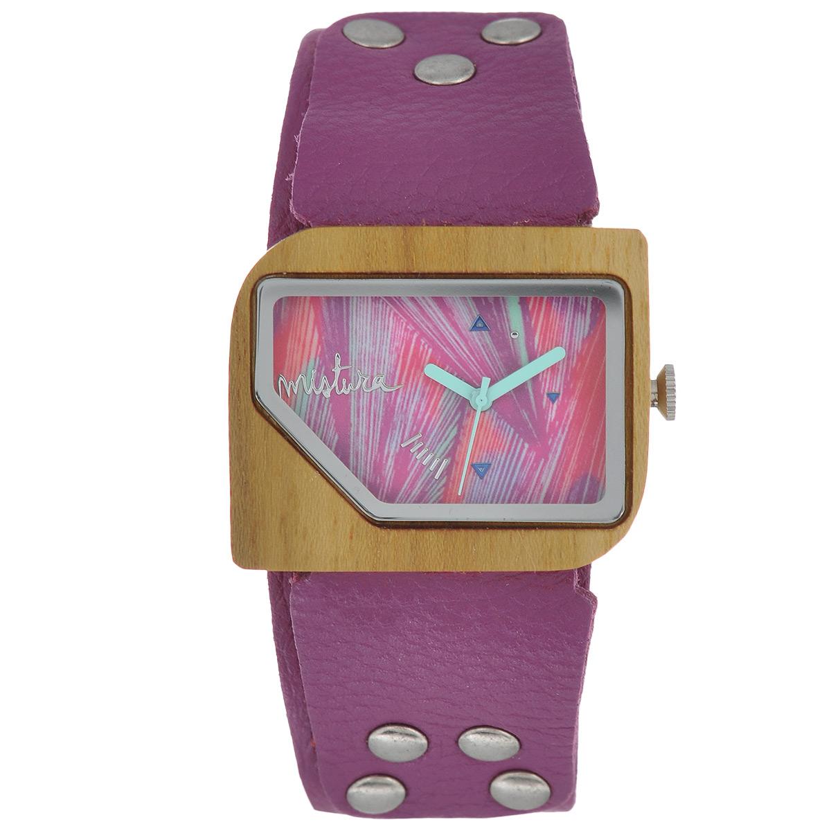 """Часы наручные женские Mistura """"Pellicano: Orchid/Malibu Pink"""". TP09004ODTKMPWD ( TP09004ODTKMPWD )"""