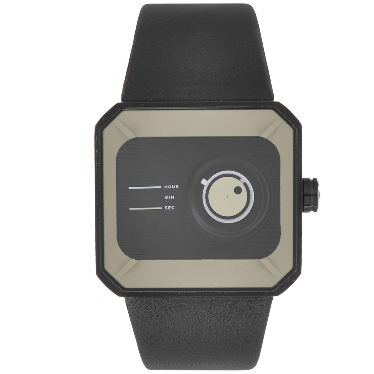 Часы наручные унисекс Tacs Channel Box-C, цвет: бежевый. TS1104CTS1104CОригинальные кварцевые наручные часы Tacs созданы для людей, ценящих качество, практичность и индивидуальность в каждой детали. Строгая цветовая гамма и минималистический дизайн позволяет сочетать часы с любыми предметами гардероба. Часы оснащены японским кварцевым механизмом Miyota 2036. Прямоугольный корпус с закругленными углами, напоминающий по форме игральную кость, выполнен из нержавеющей стали. Трехслойные подвижные диски на циферблате указывают время. Нижний диск белого цвета указывает часы, средний диск черного цвета - минуты. Верхний диск бежевого цвета круглым отверстием указывает на секунды. Цифры на циферблате отсутствуют. Циферблат защищен прочным минеральным стеклом, устойчивым к царапинам и повреждениям. Браслет часов, выполненный из натуральной кожи черного цвета, долговечен и очень практичен в использовании. Застегивается на классическую застежку-пряжку. Оригинальные яркие часы Tacs покорят вас неординарным дизайном, а высокое качество и...