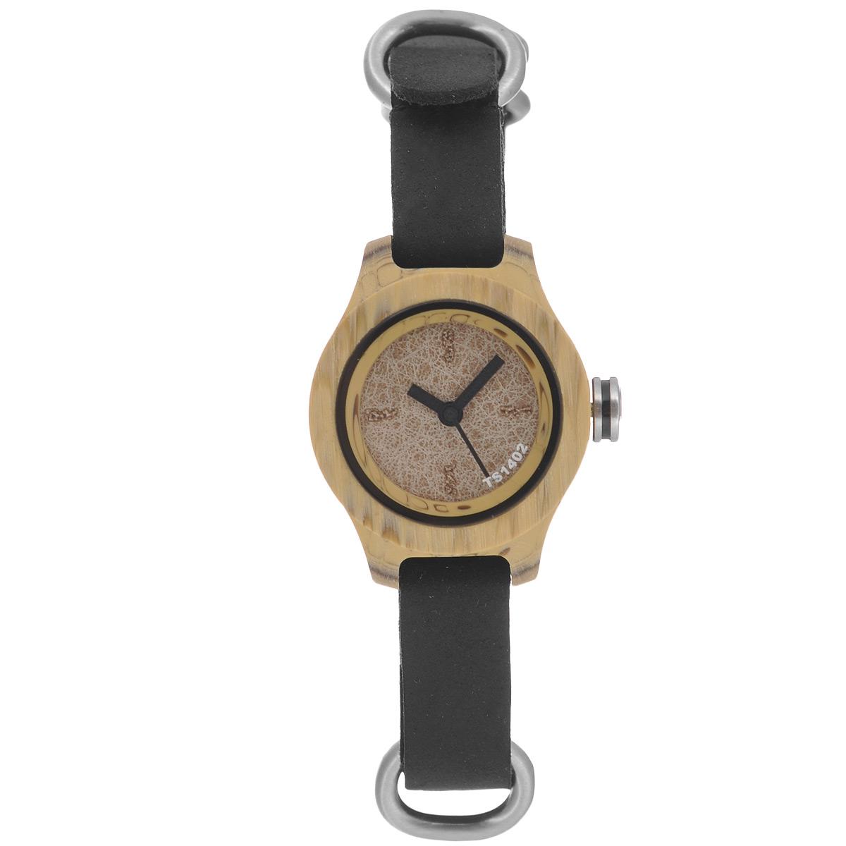 Часы наручные женские Tacs Nature S: Brown/Black/Black. TS1402BTS1402BОригинальные кварцевые наручные часы Tacs созданы для людей, ценящих качество, практичность и индивидуальность в каждой детали. Строгая цветовая гамма и минималистический дизайн позволяет сочетать часы с любыми предметами гардероба. Часы оснащены японским кварцевым механизмом Miyota 2036. Круглый корпус выполнен из сверкающей стали. Циферблат защищен прочным минеральным стеклом, устойчивым к царапинам и повреждениям. Браслет часов, выполненный из натуральной кожи черного цвета, дополненный металлическими элементами, долговечен и очень практичен в использовании. Застегивается на классическую застежку- пряжку. Оригинальные яркие часы Tacs покорят вас неординарным дизайном, а высокое качество и практичность позволят использовать их долгие годы. Благодаря необычному дизайну часы выделят вас из толпы и подчеркнут вашу индивидуальность. Часы Tacs - это высококачественная продукция, соответствующая образу жизни героя современного мегаполиса. В...