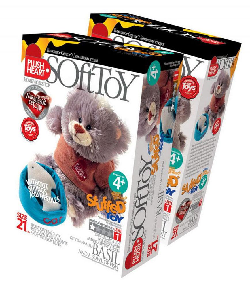 Набор для создания мягкой игрушки Кот Базиль и мисочка с рыбкой457053Набор для создания мягкой игрушки Кот Базиль и мисочка с рыбкой поможет малышу познакомиться с основами шитья и своими руками создать очаровательную плюшевую игрушку. В комплект набора входит: пошитый кот, куртка, миска с рыбой, синтепоновая набивка, капроновый мешочек с полигранулами, нитки, плюшевое сердце. Несложный процесс шитья принесет ребенку удовольствие, поможет развить мелкую моторику, творческое мышление и воображение, а самодельная игрушка станет предметом гордости и надежным другом. Мягкие игрушки являются одними из первых близких друзей ребенка и часто становятся талисманами на всю жизнь! Уважаемые клиенты! Обращаем ваше внимание, что наперсток и иглы в набор не входят.