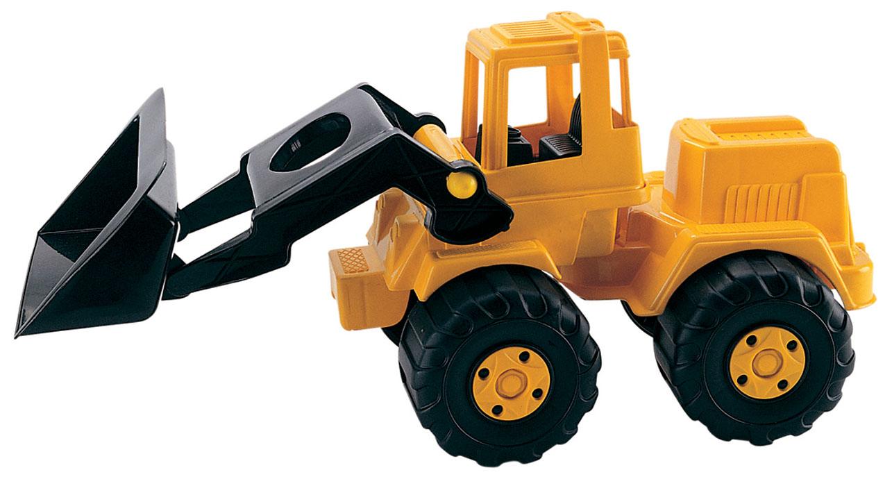 AVC Экскаватор01/5112Игрушка AVC Экскаватор отлично подойдет ребенку для различных игр. Это игрушка, предназначенная для самых маленьких - в конструкции отсутствуют острые элементы, способные травмировать малыша. Ковш экскаватора поднимается и опускается, части кузова поворачиваются. В кабину без стекол можно посадить одну или несколько небольших игрушек. Большие пластиковые колеса с крупным протектором обеспечивают машинке устойчивость и хорошую проходимость. Игрушка является оптимальным вариантом для перевозки различных грузов (камушки, палочки, песок, игрушки и т.д.). Экскаватор выполнен из прочного пластика, который позволяет выдерживать большие нагрузки. С такой игрушкой юный строитель сможет прекрасно провести время дома или на улице.