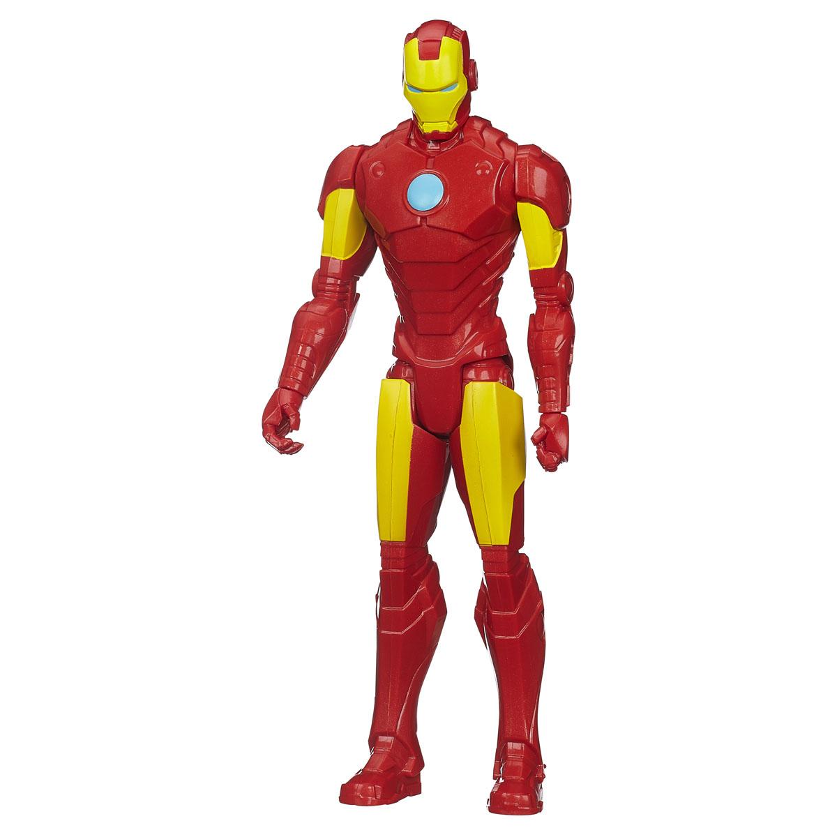 Фигурка Avengers Титаны: Железный человек, 29 смB0434EU4_B1667Фигурка Avengers Титаны: Железный человек порадует любого маленького поклонника знаменитой серии Мстители (Avengers). Фигурка изготовлена из высококачественного прочного пластика и выполнена в виде супергероя Железного человека. Фигурка имеет 5 точек артикуляции - голова, руки, кисти и ноги подвижны. Железный человек - гениальный изобретатель Энтони Старк, создавший высокотехнологичный костюм-броню, чтобы сбежать из плена. Позднее, Старк улучшает свою броню вооружением и устройствами, созданными на базе ресурсов его компании, и использует ее дабы защищать мир в облике Железного человека. Фигурка понравится как детям, так и взрослым коллекционерам, она станет отличным сувениром или займет достойное место в коллекции любого поклонника комиксов о непобедимых Мстителях.