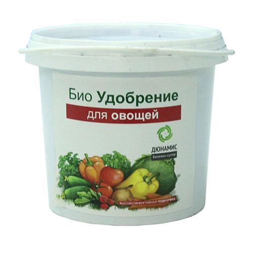 Био-удобрение Дюнамис для овощей, 1 л0407-сБио-удобрение Дюнамис - это универсальное удобрение для всех видов овощей. Уникальная сбалансированная формула веществ способствует увеличению всхожести и урожайности до 53%, улучшению вкусовых качеств продуктов. Благодаря такому удобрению, повышается сопротивляемость к заболеваниям, также это эффективная помощь при дефиците питания и влаги. Приживаемость рассады до 100%. Варианты применения: - перед посадкой; - в лунку при посадке; - добавление в грунт перед посадкой; - жидкие корневые подкормки. Состав: ферментированный навоз КРС, помет, биокатализатор. Объем: 1 л. Товар сертифицирован.