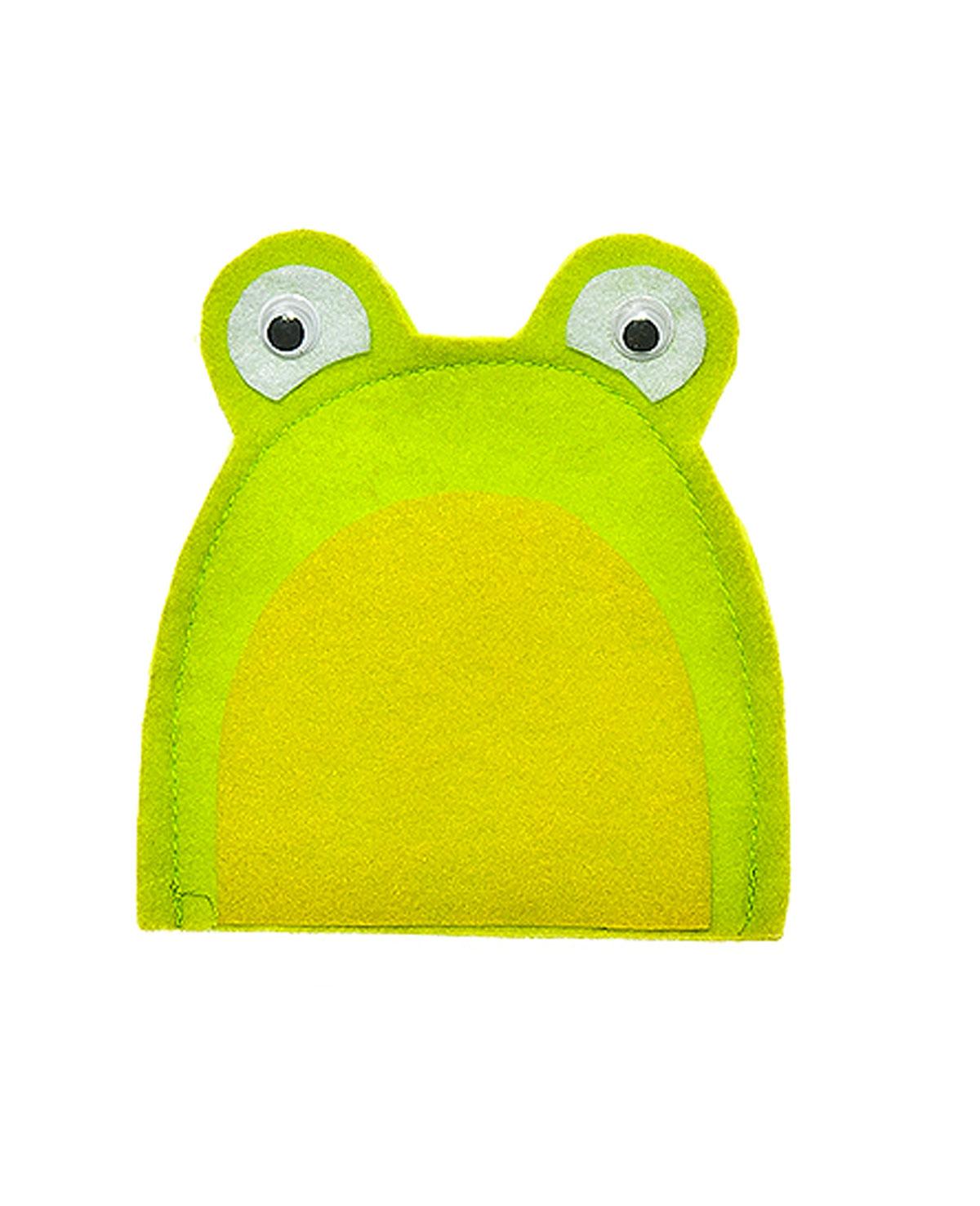 Грелка для яйца Home Queen Лягушка, цвет: зеленый, желтый, 10 х 10 см acqua natia вода минеральная 0 5 л
