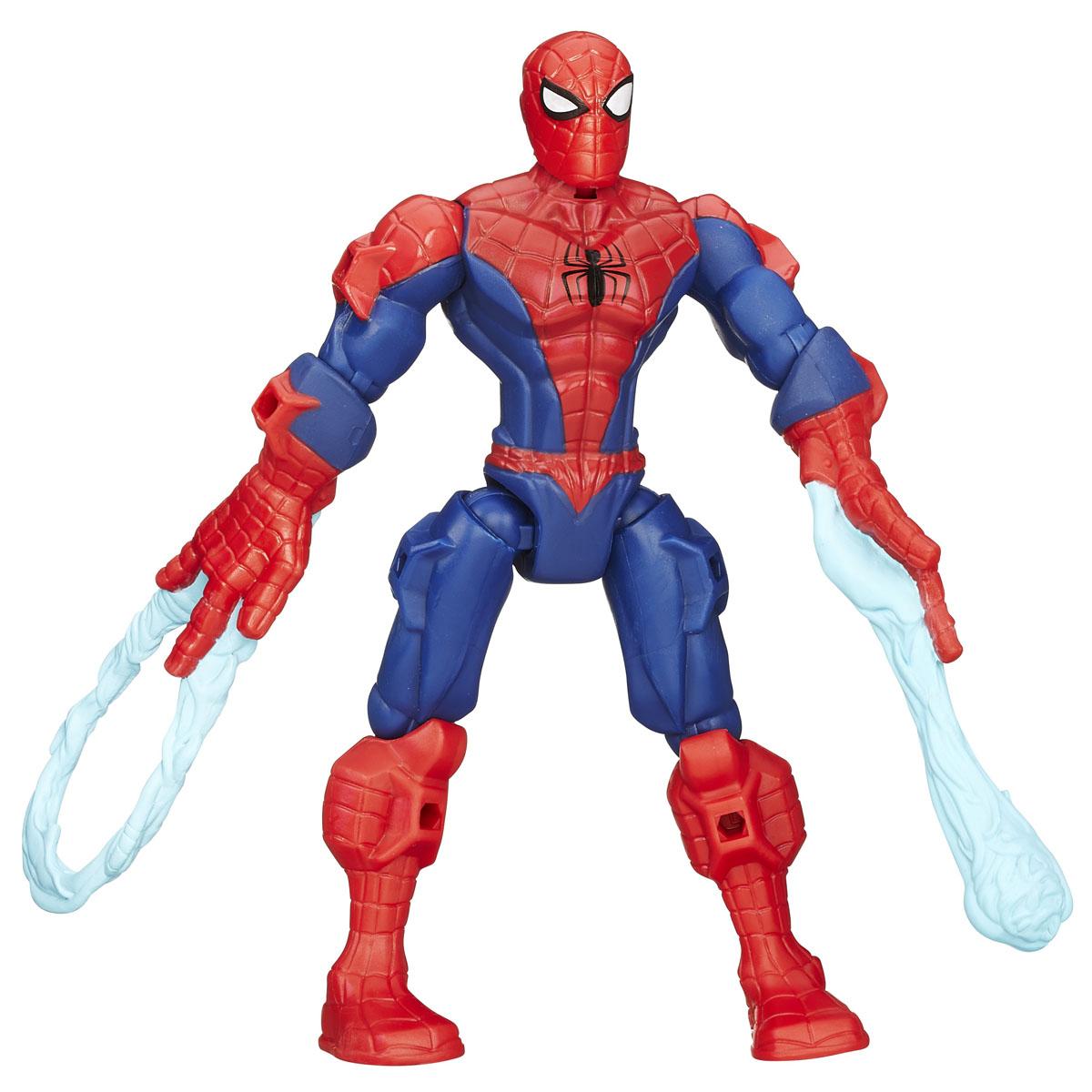 Разборная фигурка Super Hero Mashers Spider-ManA6825EU4_B0690Разборная фигурка Super Hero Mashers Spider-Man обязательно понравится любому маленькому поклоннику комиксов и мультфильмов о супергероях! Фигурка выполнена из прочного пластика в виде могучего супергероя Человека-Паука. Голова, руки и ноги фигурки подвижны, вращаются и сгибаются, а также отделяются от корпуса. Фигурка совместима с другими фигурками из серии Super Hero Mashers. Собрав коллекцию фигурок от Hasbro, вы сможете создать своего супергероя, объединяя способности разных героев комиксов Marvel. Все элементы обладают единым способом крепления, что позволяет создавать различные комбинации. Ребенок с удовольствием будет играть с фигуркой, придумывая разные истории. Порадуйте его таким замечательным подарком!