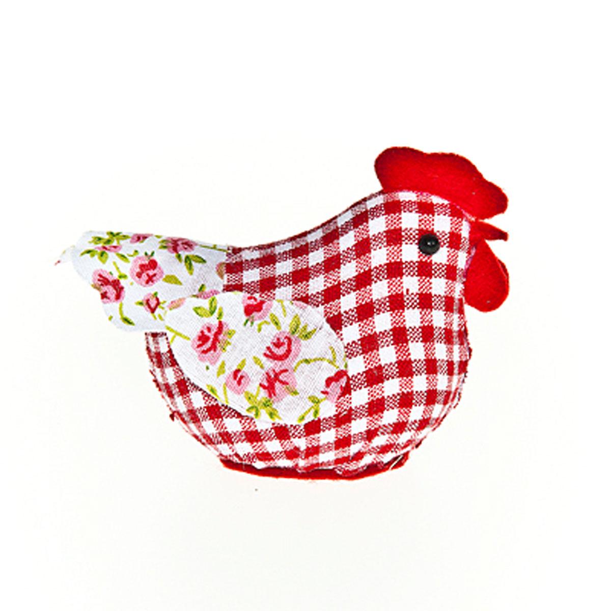Декоративная статуэтка Home Queen Курочка, рисунок: клетка64172_3Очаровательная статуэтка Home Queen Курочка станет оригинальным подарком для всех любителей стильных вещей. Она выполнена из полиэстера в виде курицы, декорированной принтом клетка. Изысканный сувенир станет прекрасным дополнением к интерьеру. Вы можете поставить статуэтку в любом месте, где она будет удачно смотреться и радовать глаз. Размер: 4 см х 8 см х 6 см.