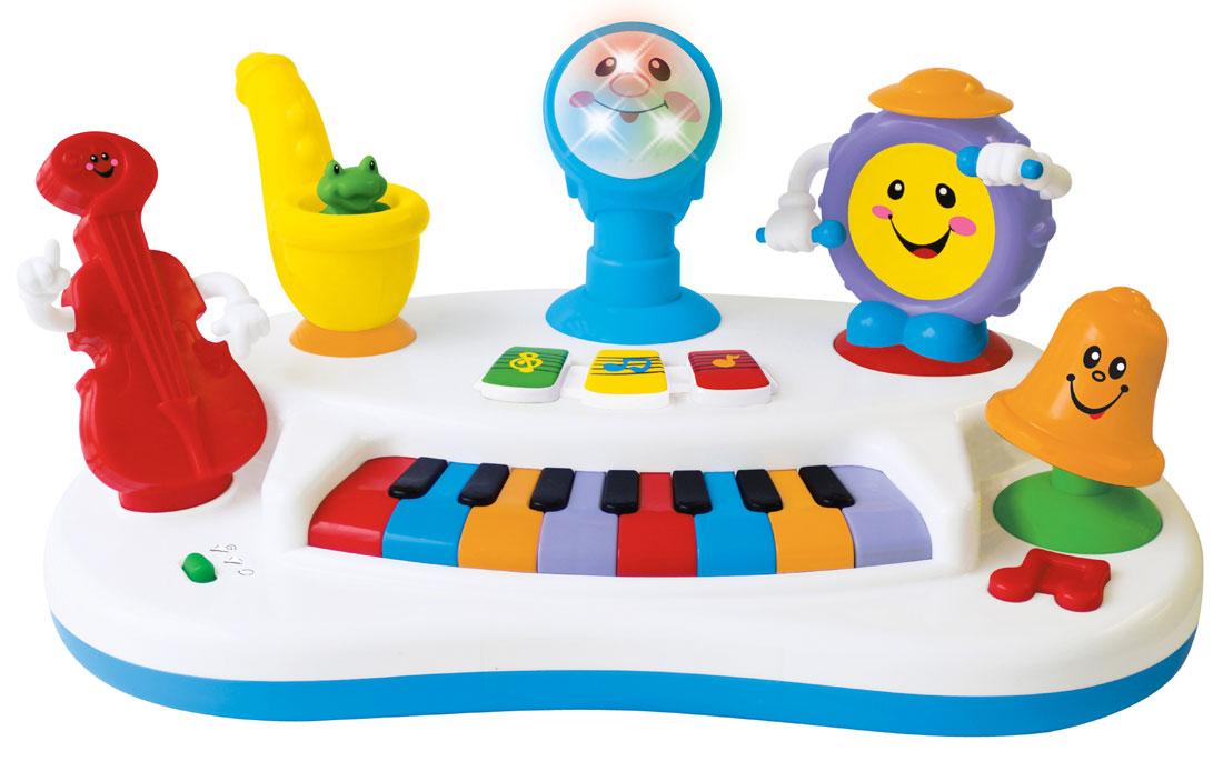 Развивающая музыкальная игрушка Kiddieland Пианино Рок-бандаKID 043455