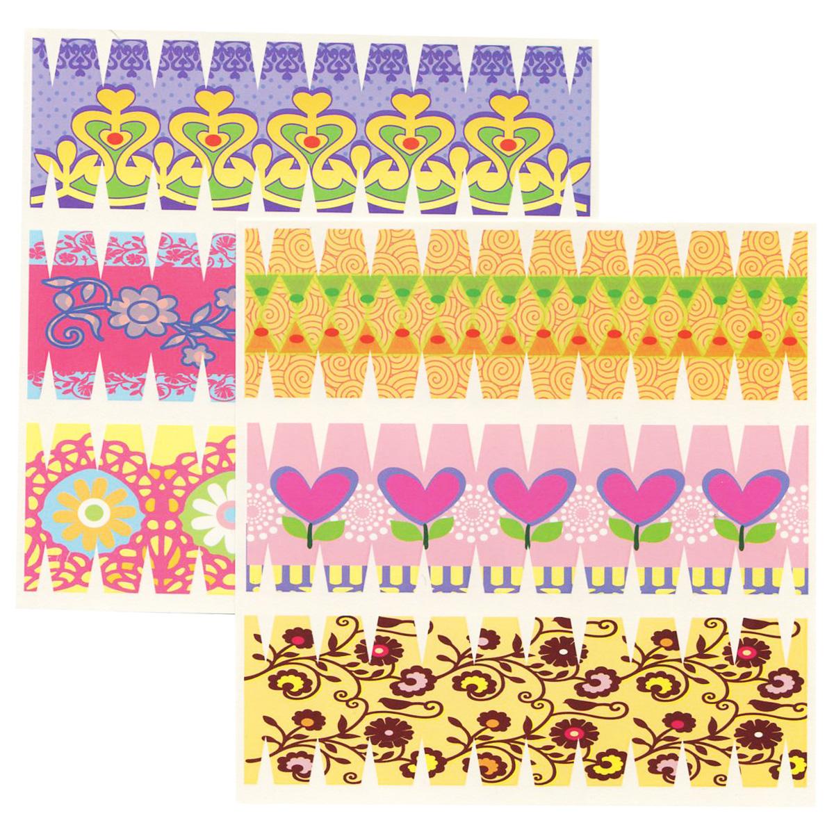 Набор переводных наклеек для яиц Home Queen Сердечки и цветы, 6 шт60883_2Набор Home Queen Сердечки и цветы состоит из 6 переводных наклеек, которые предназначены для декорирования пасхальных яиц. Наклейки выполнены из бумаги и украшены различными узорами. Такой набор украшений создаст атмосферу праздника в вашем доме. Размер наклейки: 4,4 см х 14,5 см.