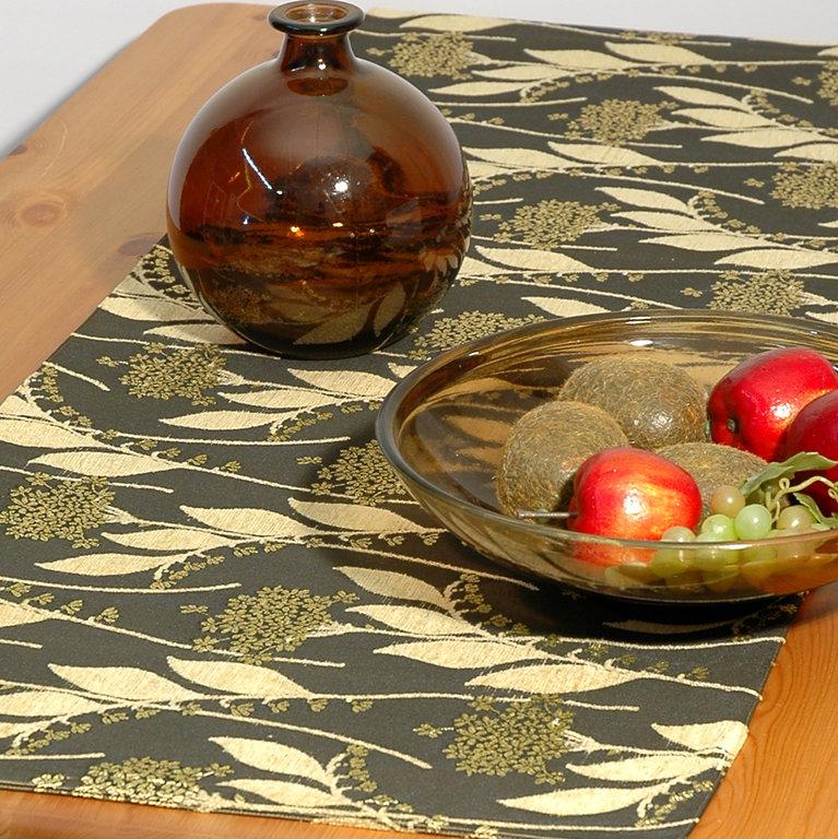 Дорожка для декорирования стола Schaefer, прямоугольная, цвет: темно-зеленый, бежевый, 43 x 135 см 06032-28506032-285Прямоугольная дорожка Schaefer выполнена из полиэстера (30%), вискозы (35%) и полиакрила (46%) и оформлена цветочным орнаментом. Вы можете использовать дорожку для декорирования стола, комода или журнального столика. Это изделие будет украшением вашей квартиры или загородного дома! Благодаря такой дорожке вы защитите поверхность мебели от воды, пятен и механических воздействий, а также создадите атмосферу уюта и домашнего тепла в интерьере вашей квартиры. Изделия из искусственных волокон легко стирать: они не мнутся, не садятся и быстро сохнут, они более долговечны, чем изделия из натуральных волокон.