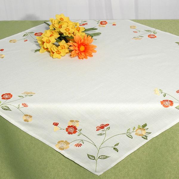 Скатерть Schaefer, квадратная, цвет: белый, 85 x 85 см. 07265-100