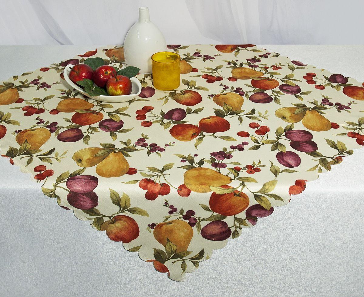 Скатерть Schaefer, прямоугольная, рисунок: фрукты, 130 x 220 см. D1990-435-03D1990-435-03Скатерть Schaefer выполнена из высококачественного полиэстера и оформлена изображениями фруктов. Изделия из полиэстера легко стирать: они не мнутся, не садятся и быстро сохнут, они более долговечны, чем изделия из натуральных волокон. Скатерть Schaefer не останется без внимания ваших гостей, а вас будет ежедневно радовать оригинальным дизайном и несравненным качеством. Немецкая компания Schaefer создана в 1921 году. На протяжении всего времени существования она создает уникальные коллекции домашнего текстиля для гостиных, спален, кухонь и ванных комнат. Дизайнерские идеи немецких художников компании Schaefer воплощаются в текстильных изделиях, которые сделают ваш дом красивее и уютнее и не останутся незамеченными вашими гостями. Дарите себе и близким красоту каждый день! Изысканный текстиль от немецкой компании Schaefer - это красота, стиль и уют в вашем доме.