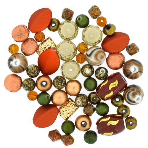 Набор бусин Jesse James Танго, 21 г7706936Набор бусин Jesse James Танго, изготовленный из стекла, металла, керамики и акрила, поможет вам своими руками создать удивительно красивое ожерелье или браслет. Каждая бусина имеет по два отверстия для продевания нити или лески. Бусины разных форм декорированы цветными разводами и оснащены многогранными рельефными поверхностями. Оригинальные бусины яркого необычного дизайна разнообразят вашу работу и добавят вдохновения для новых идей. Отвлекитесь от повседневных забот и создайте удивительный аксессуар, который к тому же и стильно дополнит ваш образ. Средний размер бусин: 12 мм х 10 мм х 7 мм.