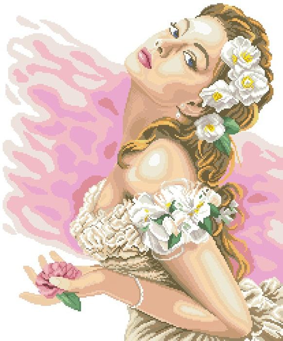 Набор для вышивания крестом Lanarte Lady of the Camellias, 37 х 48 см924080Набор для вышивания крестом Lanarte Lady of the Camellias является результатом особого подхода к дизайну, разработанному в студии компании в Голландии. Сделать так, чтобы предмет соответствовал и дополнял интерьер современного жилища, - такую задачу поставили перед собой во главу угла дизайнеры. Рисунок выполняется в технике счетный крест. Вышивание отвлечет вас от повседневных забот и превратится в увлекательное занятие! Работа, сделанная своими руками, создаст особый уют и атмосферу в доме и долгие годы будет радовать вас и ваших близких. В набор входит: - канва белого цвета (ткань Aida 14 - 100% хлопок), - черно-белая символьная схема с инструкцией на русском языке, - мулине DMC 100% хлопок (35 цветов), - игла. Размер канвы: 65 х 53 см.