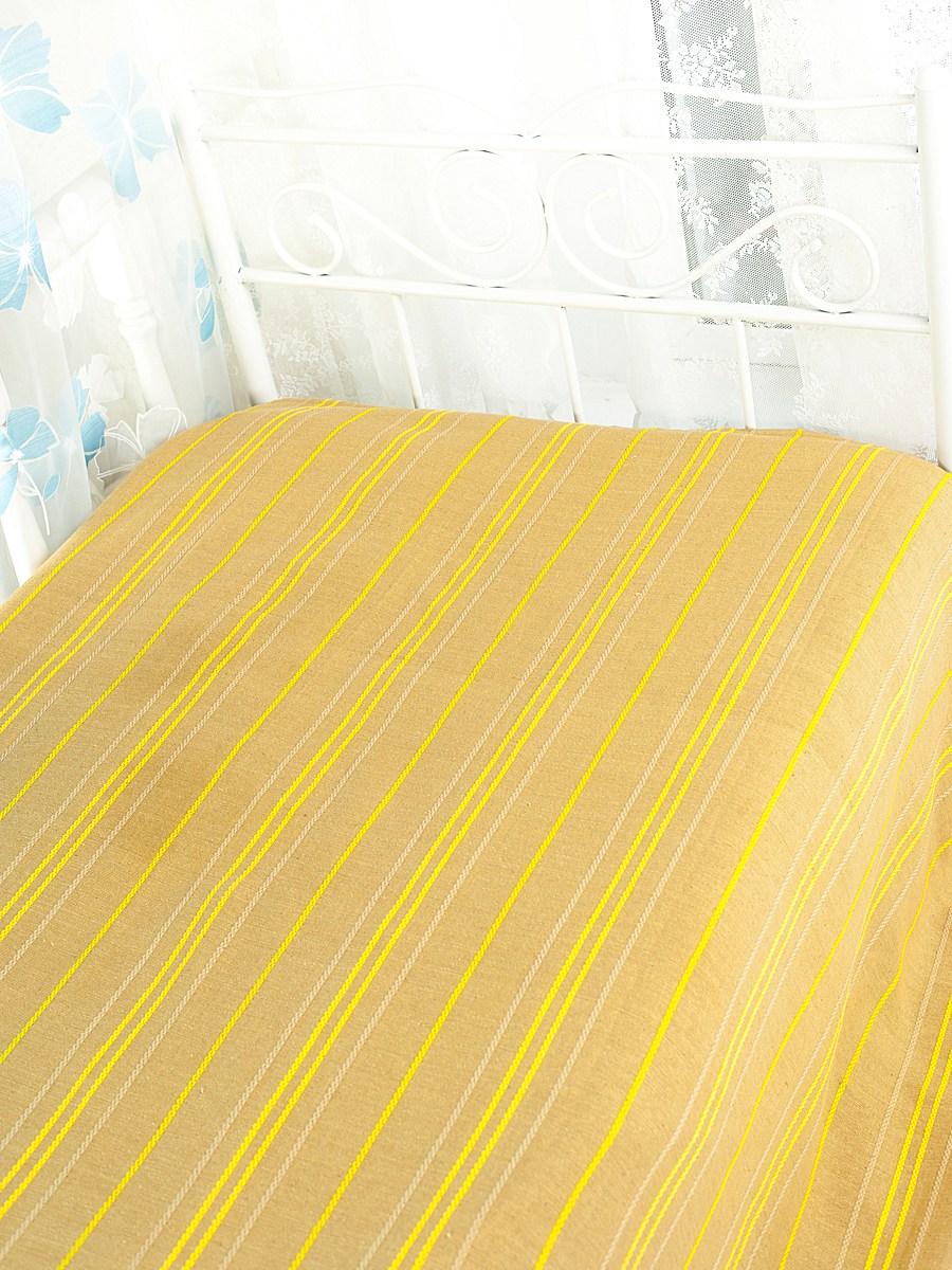 Покрывало Arloni Стокгольм, цвет: медовый, 200 см х 240 см