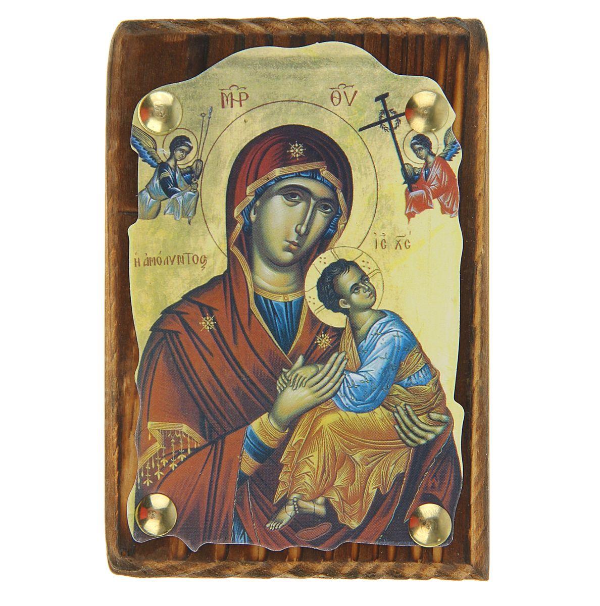 """Sima-land Икона """"Пресвятая Богородица"""", 7,5 см х 11 см 137007"""