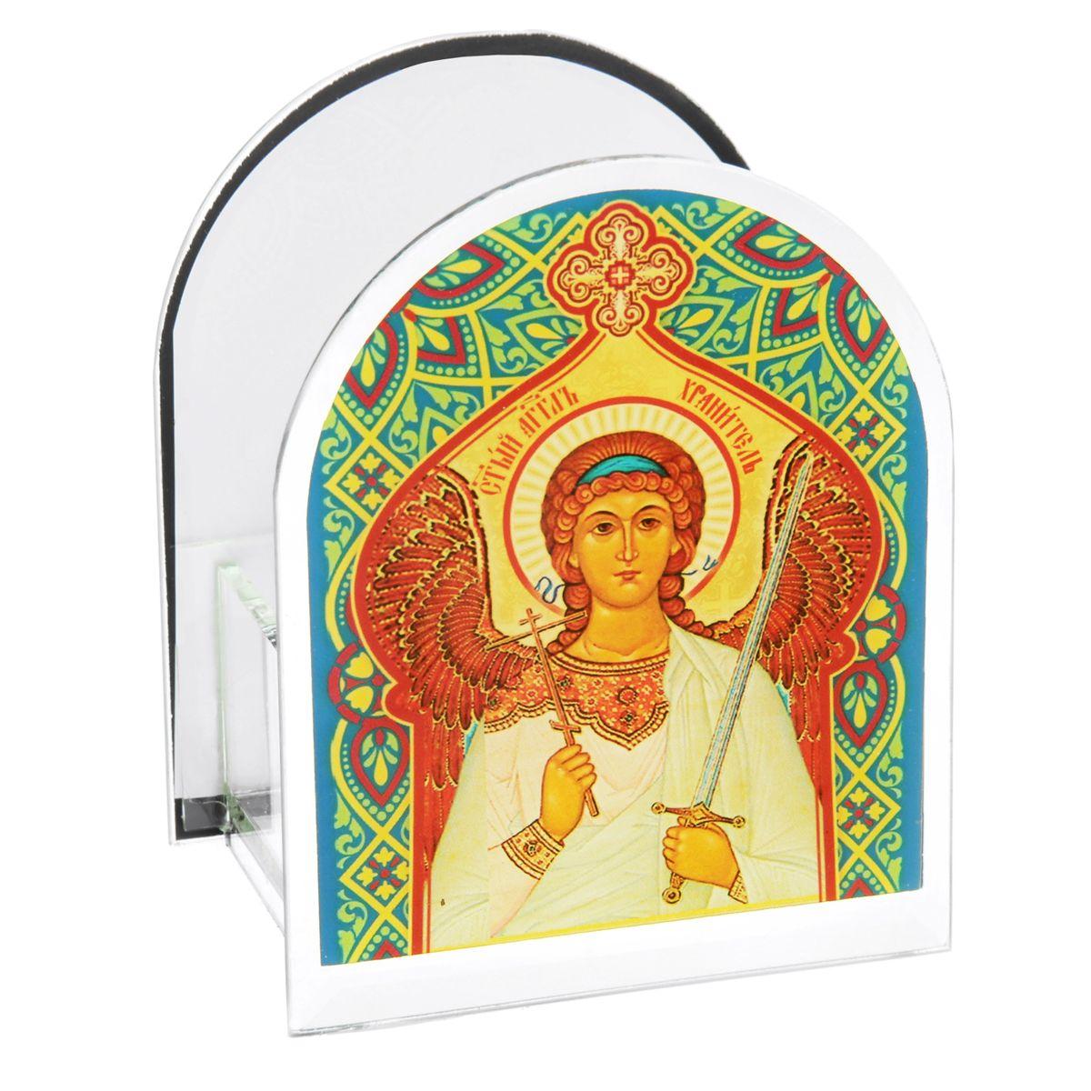 Подсвечник Sima-land Ангел Хранитель842468Подсвечник Sima-land Ангел Хранитель изготовлен из качественного стекла, предназначен для свечи в гильзе. С одной стороны подсвечника изображен лик святого, с другой стороны нанесена молитва. Зажгите свечку поставьте ее в подсвечник и наслаждайтесь теплом, которое наполнит ваше сердце. Такой подсвечник привнесет в ваш дом согласие и мир и будет прекрасным подарком, оберегающим близких вам людей. Размер подсвечника (ДхШхВ): 9 см х 7 см х 11 см. Диаметр отверстия для свечи: 4,5 см.
