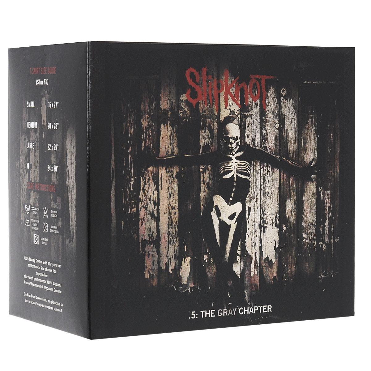 Издание содержит 20-страничный буклет с фотографиями и текстами песен на английском языке. К изданию прилагается футболка черного цвета с изображением логотипа группы. Размер S.