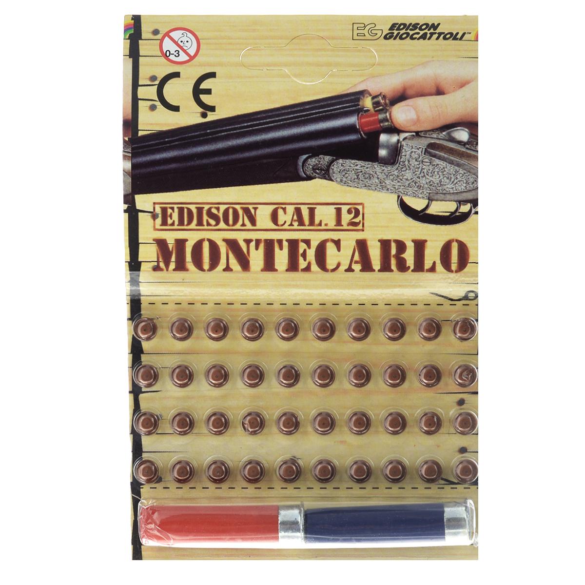 Пистоны Montecarlo, с 2 гильзами, 40 шт5040/46Пистоны из набора Montecarlo сделают выстрелы из игрушечного оружия более реалистичными. Пистоны предназначены для ружья или винтовок, предусматривающих в использовании гильзы. В набор входят 40 пистонов и 2 гильзы. Edison Giocattoli - итальянский производитель игрушечного оружия для социально-ролевых игр, развивающих в детях чувство справедливости, мышление, логику и активность. Все игрушки этого бренда изготовлены из безопасных для здоровья детей материалов. УВАЖАЕМЫЕ КЛИЕНТЫ! Обращаем ваше внимание на возможные изменения в дизайне товара. Поставка осуществляется в зависимости от наличия на складе.