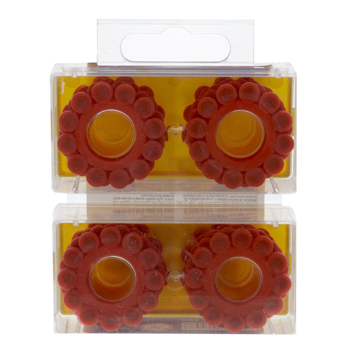 Пистоны Super Disc, 12-зарядные, 240 шт6240/1612-зарядные пистоны из набора Super Disc сделают выстрелы из игрушечного оружия более реалистичными. Пистоны предназначены для пистолетов и револьверов с барабаном, рассчитанным на 8 зарядов. В набор входят 20 колец по 12 пистонов в каждом, упакованных в 2 прозрачных пластиковых контейнера с яркими крышками. Edison Giocattoli — итальянский производитель игрушечного оружия для социально-ролевых игр, развивающих в детях чувство справедливости, мышление, логику и активность. Все игрушки этого бренда изготовлены из безопасных для здоровья детей материалов.