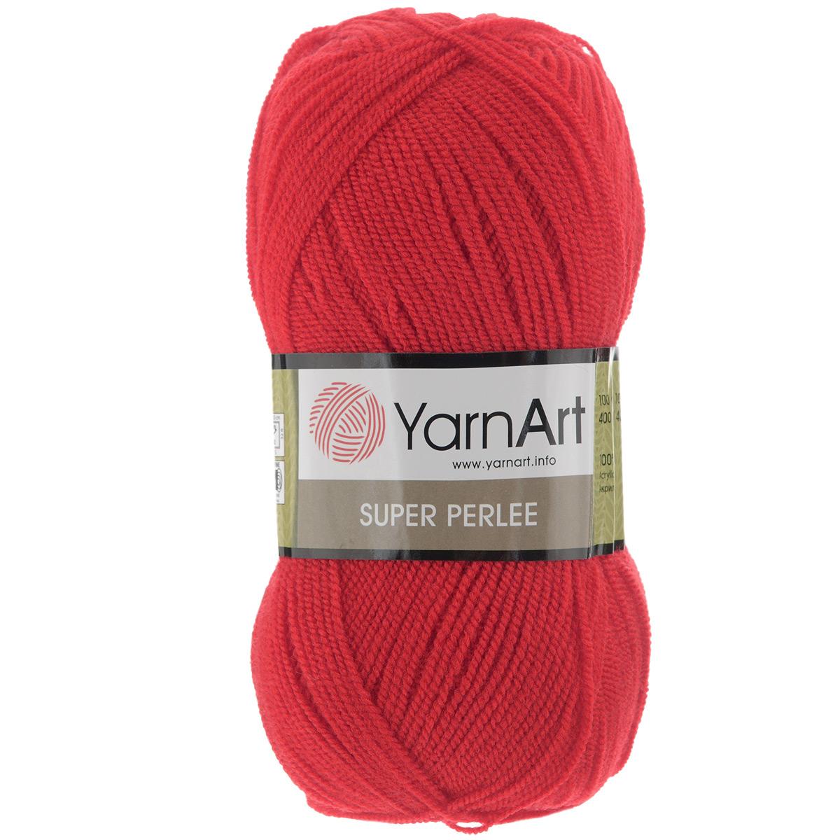 Пряжа для вязания YarnArt Super Perlee, цвет: алый (41), 400 м, 100 г, 5 шт372062_41Нить пряжи YarnArt Super Perlee ровная, без утолщений и узелков, и такое качество материала позволяет с помощью крючка и спиц создавать легкие ажурные вещи, изысканные и практичные одновременно. Нить тонкая, что предоставляет рукодельницам неограниченные возможности - ведь акрил можно комбинировать и с другими видами пряжи, например, с шерстью или мохером, что обеспечит готовому изделию плотность и тепло. Пряжа YarnArt Super Perlee пользуется особой популярностью в силу своей экономичности и практичности. Состав: 100% акрил Подходит для вязания на крючках и спицах № 3. В настоящее время вязание плотно вошло в нашу жизнь, причем не столько в виде привычных свитеров, сколько в виде оригинальных, изящных моделей из самой разнообразной пряжи. Поэтому так важно подобрать именно ту пряжу, которая позволит вам связать даже самую сложную и необычную модель изделия.