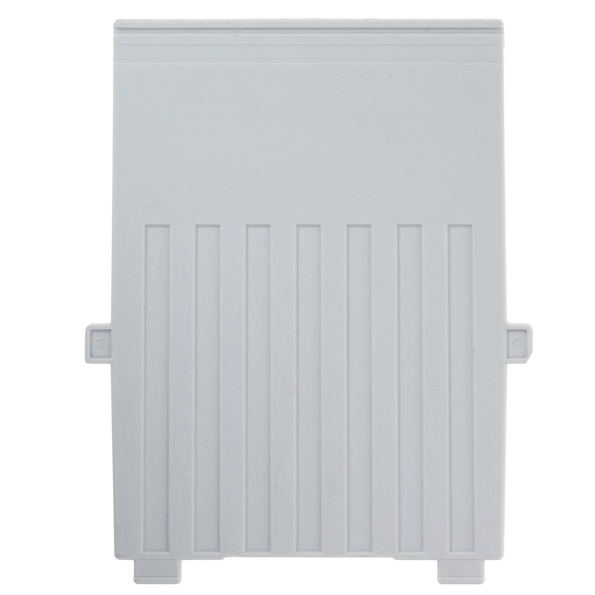 Разделитель для вертикальной картотеки Han, цвет: серый. Формат А6HA9026-1/11Разделитель для картотеки Han изготовлен из пластика серого цвета. Предназначен для вертикальных картотек HAN. Имеется специальное поле для установки индексного окна (сверху).