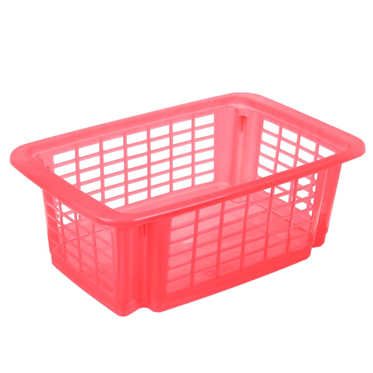 Корзина для хранения Dunya Plastik Стакер, цвет: красный, 12 л. 55075507Классическая корзина Dunya Plastik Стакер, изготовленная из пластика, предназначена для хранения мелочей в ванной, на кухне, даче или гараже. Позволяет хранить мелкие вещи, исключая возможность их потери. Это легкая корзина со сплошным дном и перфорированными стенками. Корзина имеет специальные выемки внизу и вверху, позволяющие устанавливать корзины друг на друга.