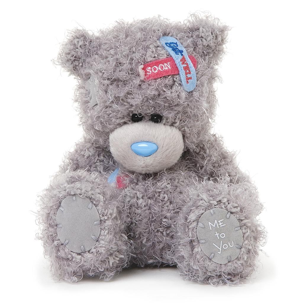 Me to You Мягкая игрушка Мишка Тедди, 13 см. G01W3416G01W3416Очаровательная игрушка Me to You Мишка Тедди выполнена в виде трогательного медвежонка. Игрушка изготовлена из высококачественных текстильных материалов. Глазки и носик выполнены из пластика. На голове медвежонка расположены пластыри с надписью Get Weel Soon. Удивительно мягкая игрушка принесет радость и подарит своему обладателю мгновения нежных объятий и приятных воспоминаний. Долгая история Мишки Тедди создала целый культ в истории, про него снимали мультфильмы и фильмы, сочиняли сказки и песни, он был любимцем детей и взрослых множество лет и является им сейчас. Нет лучшего подарка для ребенка или для девушки, чем Мишка Тедди от Me To You. Он способен выразить Вашу любовь, заботу или дружбу. Он подарит огромное количество любви и ласки своему владельцу, как это делали миллионы других медведей Тедди, до него. Это именно та игрушка, которая имеет свою неповторимую историю, такого медведя можно вспомнить из своего детства или даже найти на бабушкином...