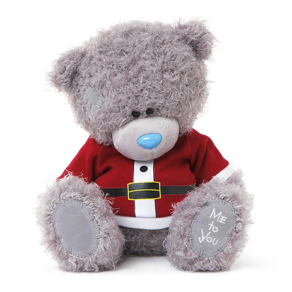 Me to You Мягкая игрушка Мишка Тедди: Санта, 23 см