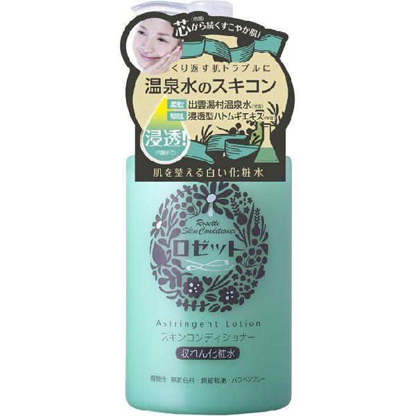 """Rosette Сужающий поры лосьон """"Skin Conditioner"""" на основе термальной воды для чувствительной кожи лица с экстрактами коикса, гаммамелиса,"""