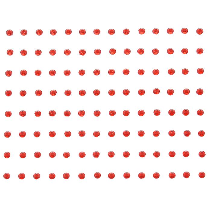 Стразы самоклеящиеся Home Queen Мерцание, цвет: красный, 3 мм, 112 шт68307Набор страз Home Queen Мерцание, изготовленный из акрила, позволит вам украсить открытку, бижутерию, подарочную коробку, фотоальбом, а также элементы одежды. Стразы оригинального и яркого дизайна круглой формы фиксируются при помощи специальной клейкой основы. Украшение стразами поможет сделать любую вещь оригинальной и неповторимой. Диаметр: 3 мм. Комплектация: 112 шт.