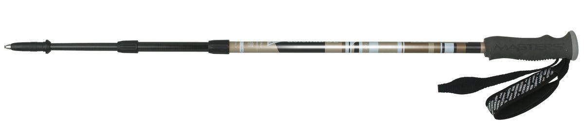 Палки для трекинга Masters Dolomiti SL, телескопические, 65-135 см01S1514Masters Dolomiti SL - телескопические трекинговые палки, отличающиеся инновационной технологией CALU, основанной на комбинировании композитных материалов, таких как алюминий и карбон. Эта технология позволяет достичь высокой прочности и легкого веса. Удобная и надежная система секционной блокировки BS Blocking System, разработанная по цанговому принципу. Разработаны для длительных походов и восхождений, требующих минимально веса и надежного снаряжения. Имеют профессиональную рукоятку Pro Foam из пеноматериалов с влагоотводящим эффектом, что позволяет произвести максимально комфортный хват. Эргономичный регулируемый темляк. При весе всего в 180 г используется технология CALU, обеспечивающая легкость, упругость и прочность. Палки телескопические состоят из 3 секций для удобства транспортировки на рюкзаке или ином снаряжении. На двух нижних секциях расположена метрическая разметка для быстрой и точной регулировки длины палки под рост. Наконечник карбидовый, для высокого...