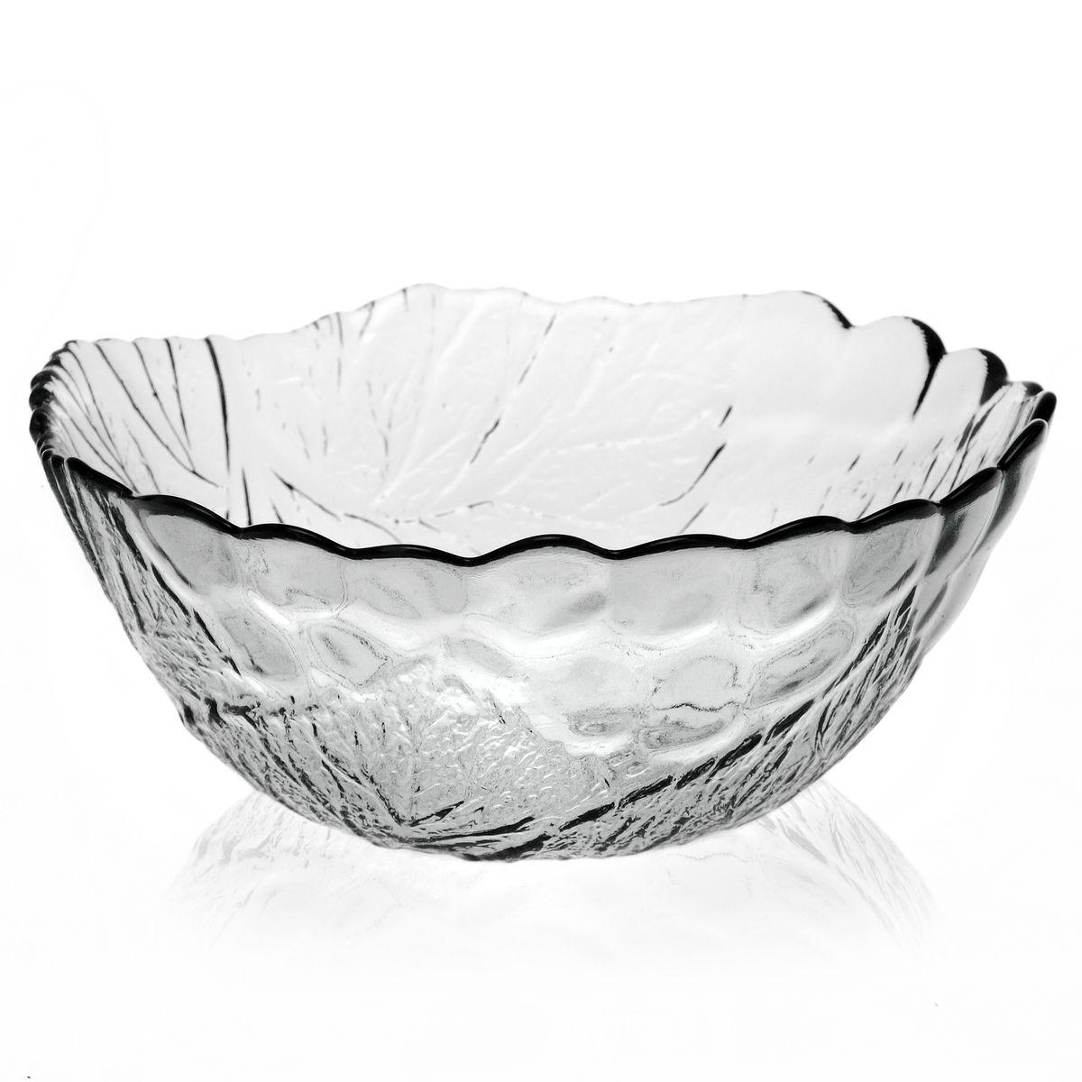 Салатник Pasabahce Sultana, диаметр 22,5 см10284BСалатник Pasabahce Sultana, выполненный из прозрачного высококачественного натрий-кальций-силикатного стекла, предназначен для красивой сервировки различных блюд. Внешние стенки салатника имеют рифленую поверхность. Салатник сочетает в себе изысканный дизайн с максимальной функциональностью. Оригинальность оформления придется по вкусу и ценителям классики, и тем, кто предпочитает утонченность и изящность. Можно использовать в холодильной камере, микроволновой печи и мыть в посудомоечной машине. Диаметр салатника: 22,5 см. Высота салатника: 9,5 см.
