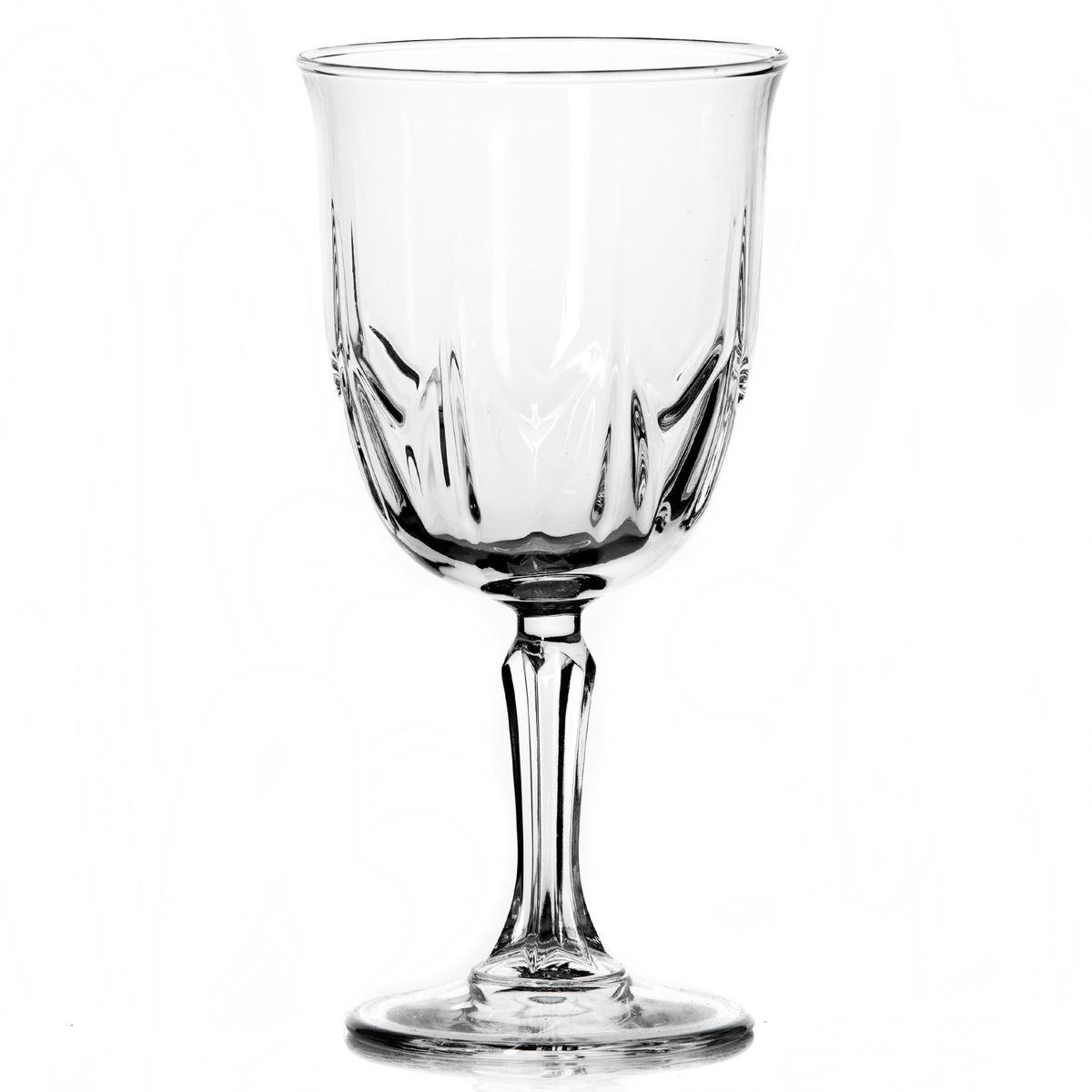 Набор бокалов Pasabahce Karat, 335 мл, 6 шт440148BНабор Pasabahce Karat состоит из шести бокалов, выполненных из прочного натрий-кальций-силикатного стекла. Изделия оснащены рельефной поверхностью и фигурной ножкой. Бокалы сочетают в себе элегантный дизайн и функциональность. Благодаря такому набору пить напитки будет еще вкуснее. Набор бокалов Pasabahce Karat прекрасно оформит праздничный стол и создаст приятную атмосферу за романтическим ужином. Такой набор также станет хорошим подарком к любому случаю. Можно мыть в посудомоечной машине. Диаметр бокала (по верхнему краю): 8,5 см. Высота бокала: 18 см.