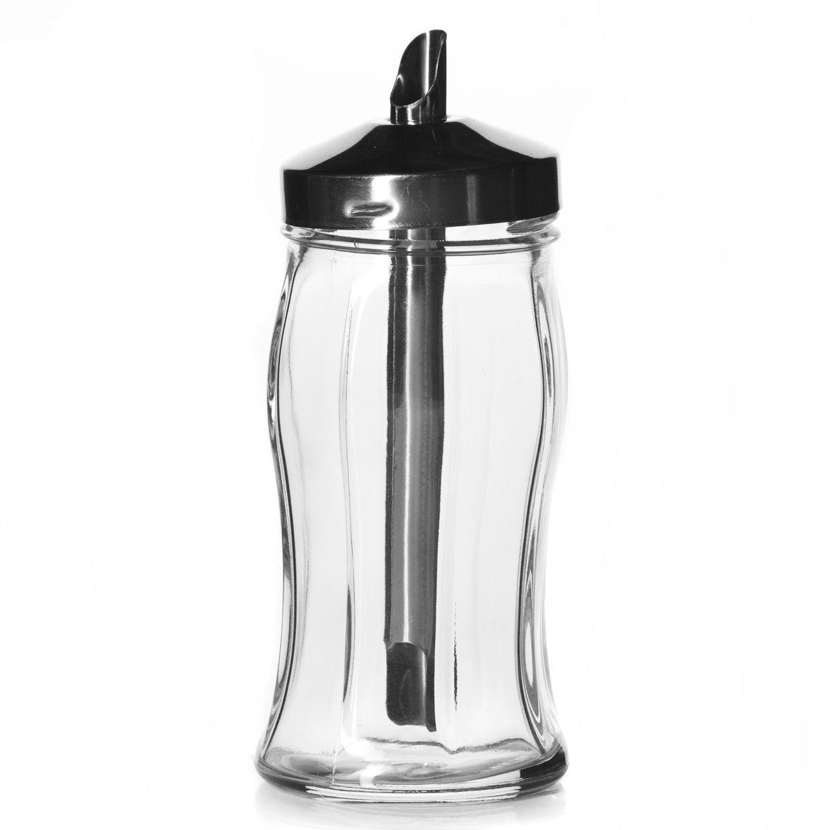 Емкость для сахара Pasabahce Black & White, 260 мл80078BЕмкость для сахара Pasabahce Black & White, изготовленная из прочного стекла, позволит хранить разнообразные сыпучие продукты, такие как сахар. Емкость оснащена закручивающейся металлической крышкой с дозатором. Емкость легка в использовании. Чтобы добавить сахар, вам нужно лишь перевернуть ее. Емкость для хранения специй станет незаменимым помощником на кухне. Можно мыть в посудомоечной машине. Объем емкости: 260 мл. Высота емкости (без учета крышки): 13 см. Диаметр емкости (по верхнему краю): 4,5 см.