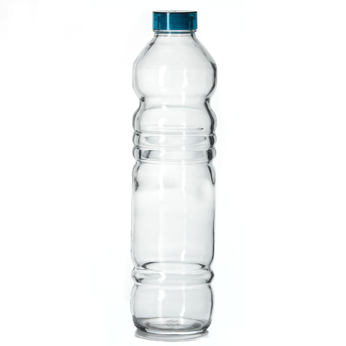 Бутылка Pasabahce Vita, 1100 мл80339BБутылка Pasabahce Vita, изготовленная из стекла, предназначена для пищевых жидкостей. Бутылка оснащена пластмассовой крышкой с силиконовым уплотнительным кольцом внутри для герметичности. Изделие красиво переливается и излучает приятный блеск. Изящная форма и необычный дизайн сделают ее украшением вашего кухонного стола. Можно мыть в посудомоечной машине. Высота бутылки: 31 см. Диаметр дна: 7,5 см. Диаметр бутылки (по верхнему краю): 3,5 см. Объем: 1100 мл.