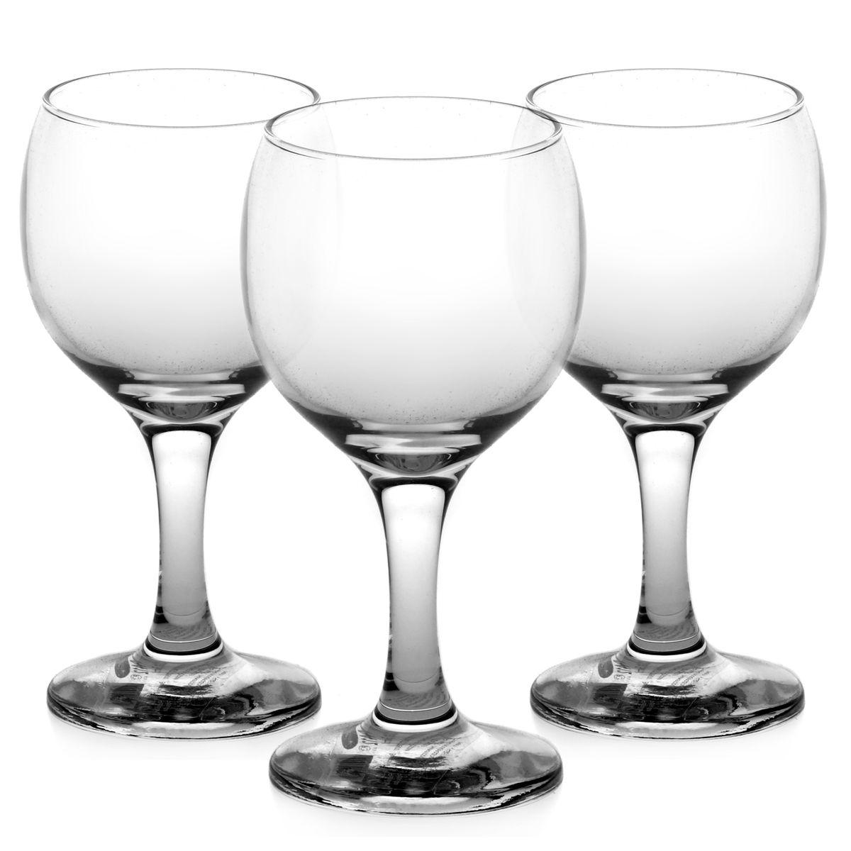 Набор бокалов для белого вина Pasabahce Bistro, 175 мл, 3 шт44415BНабор Pasabahce Bistro состоит из трех бокалов, изготовленных из прочного натрий-кальций-силикатного стекла. Изделия, предназначенные для подачи белого вина, несомненно придутся вам по душе. Бокалы сочетают в себе элегантный дизайн и функциональность. Благодаря такому набору пить напитки будет еще вкуснее. Набор бокалов Pasabahce Bistro идеально подойдет для сервировки стола и станет отличным подарком к любому празднику. Можно мыть в посудомоечной машине и использовать в микроволновой печи. Диаметр бокала по верхнему краю: 6 см. Высота бокала: 13 см.