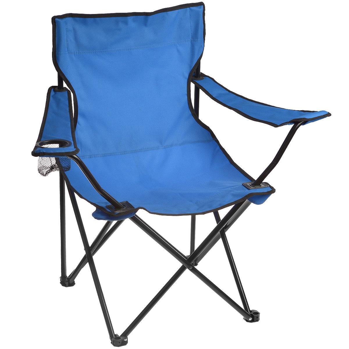 Кресло складное Happy CamperЛК-705Кресло складное Happy Camper - это незаменимый предмет походной мебели, очень удобен в эксплуатации. Каркас кресла изготовлен из стали с порошковым покрытием. Кресло легко собирается и разбирается и не занимает много места, поэтому подходит для транспортировки и хранения дома.