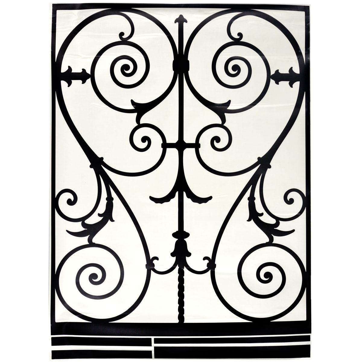 Стикер Paris-Paris Перила в стиле барокко, 90 х 132 смПР00149Добавьте оригинальность вашему интерьеру с помощью необычного стикера Paris-Paris Перила в стиле барокко. Оригинальное исполнение добавит изысканности в дизайн. Необыкновенный всплеск эмоций в дизайнерском решении создаст утонченную и изысканную атмосферу не только спальни, гостиной или детской комнаты, но и даже офиса. Стикер выполнен из матового винила - тонкого эластичного материала, который хорошо прилегает к любым гладким и чистым поверхностям, легко моется и держится до семи лет, не оставляя следов. Идеи французских дизайнеров украсят любой интерьер.