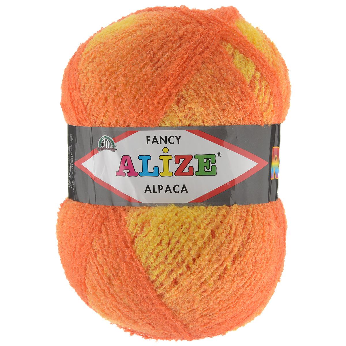 Вязание из пряжи альпака