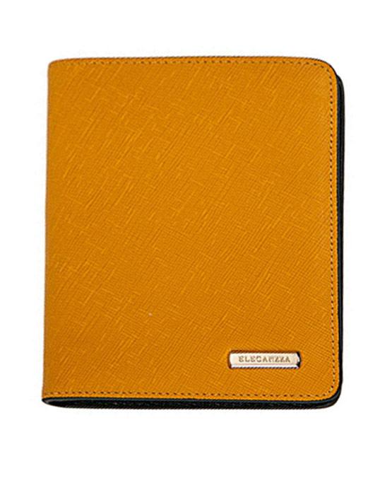 Обложка для паспорта Eleganzza, цвет: желтый, зеленый. Z3942-4009Z3942-4009Обложка для паспорта Eleganzza выполнена из натуральной кожи. Она не только поможет сохранить внешний вид ваших документов и защитит их от повреждений, но и станет аксессуаром, идеально подходящим вашему образу.