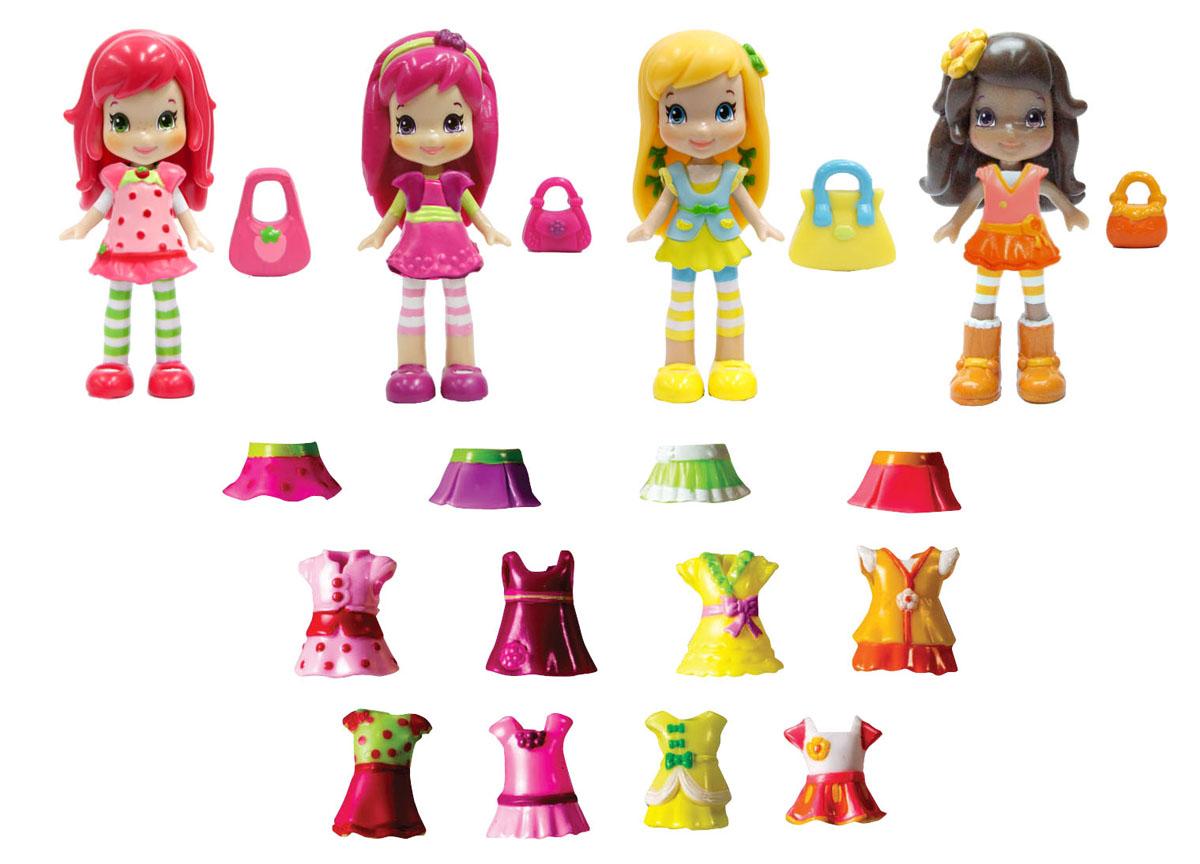 Шарлотта Земляничка Набор кукол Ягодные подружки 4 шт12254
