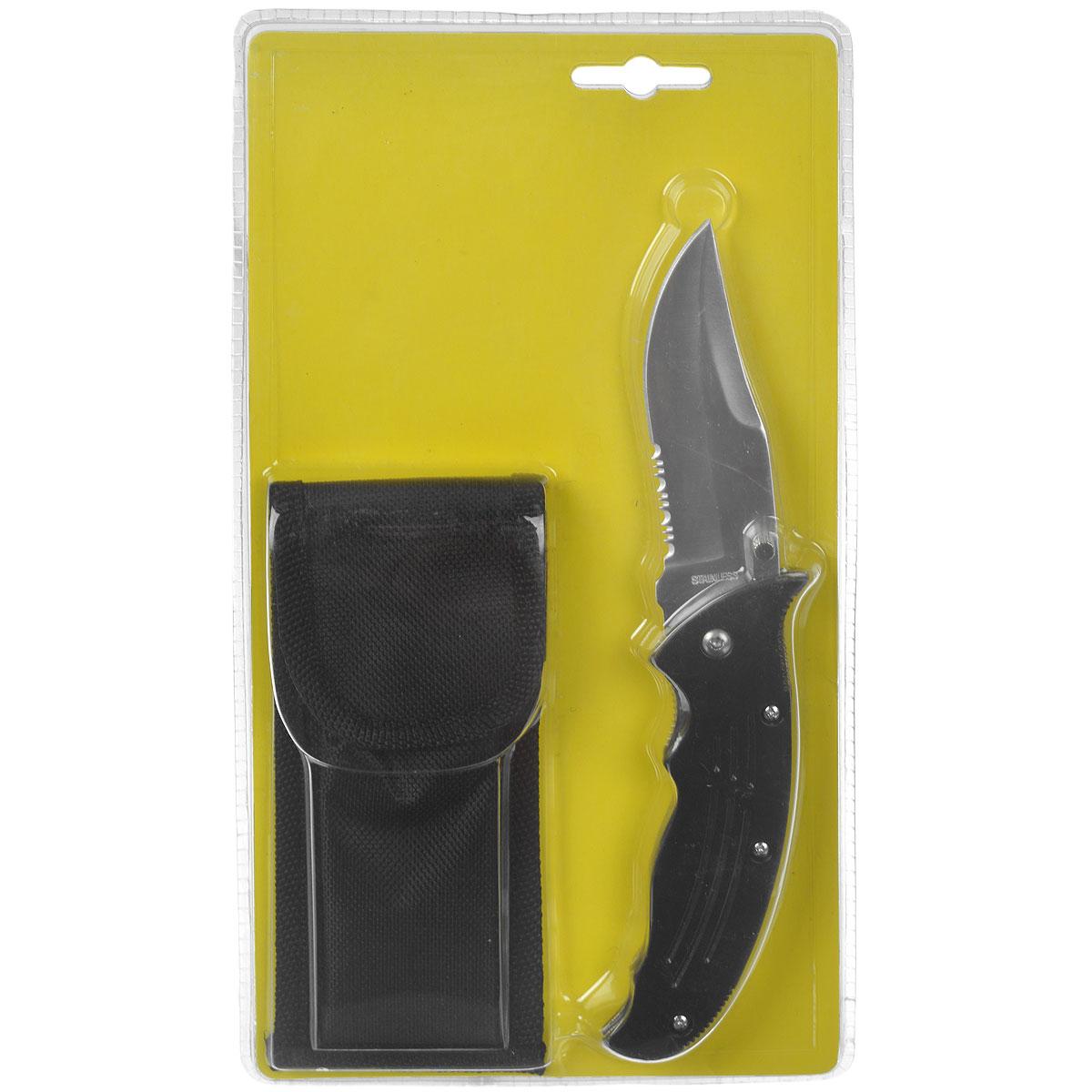 Складной нож Campland, длина лезвия 8,5 см