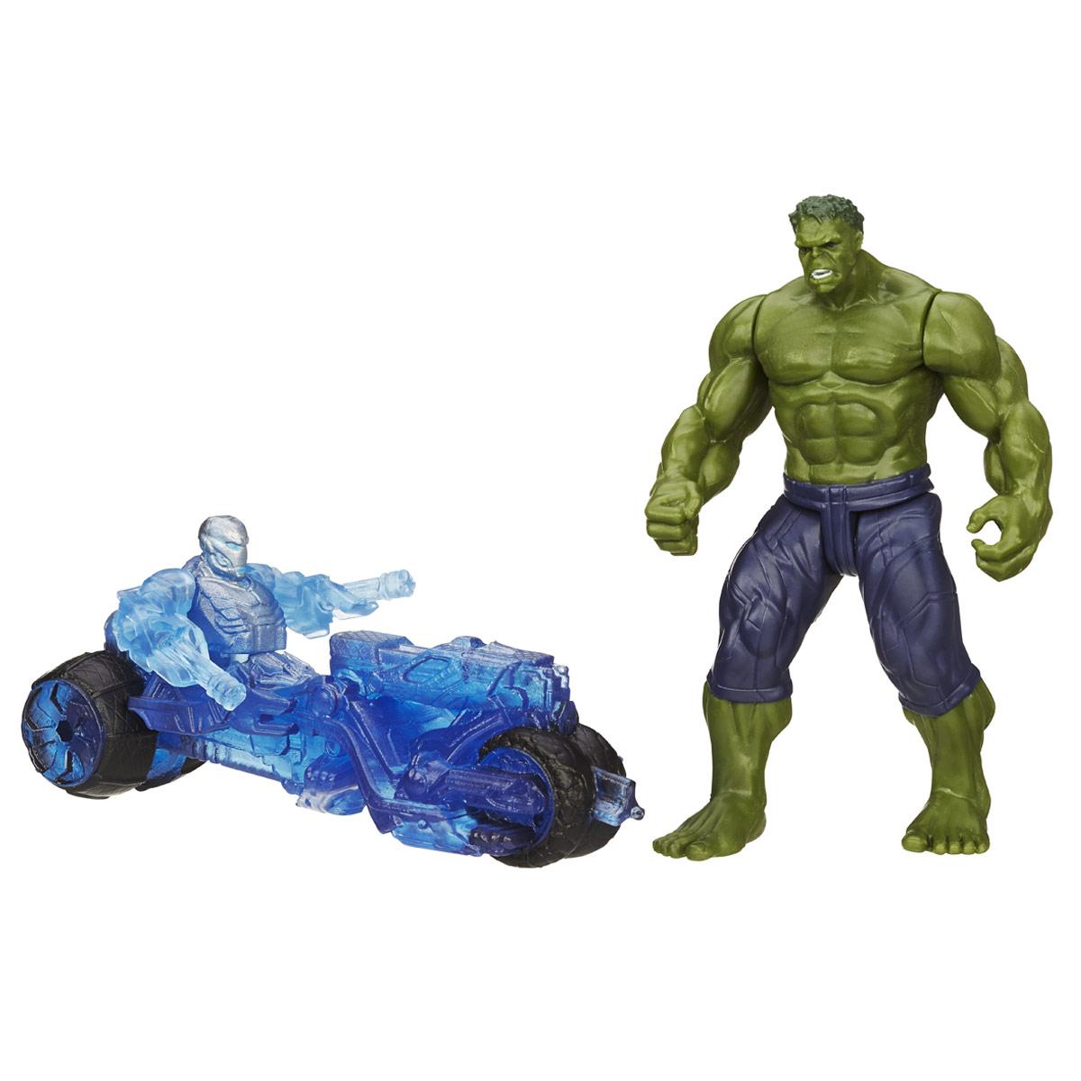 """Мстители / Avengers Мини-фигурка Avengers """"Hulk"""", с аксессуарами"""