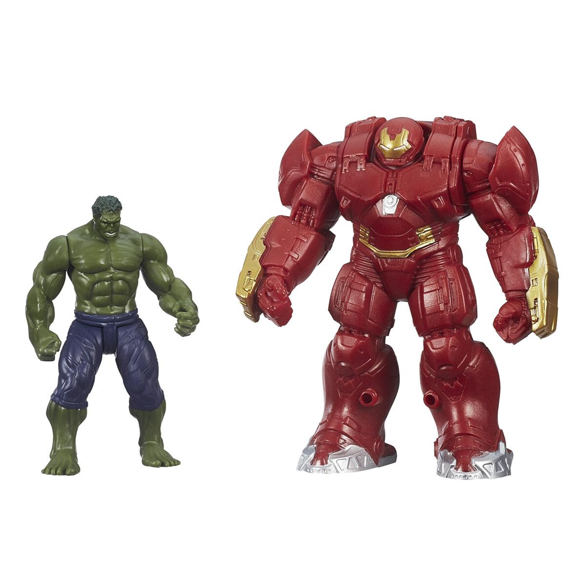Игровой набор Avengers Hulk & Hulk BusterB5769EU4_B1500Игровой набор Avengers Hulk & Hulk Buster непременно привлечет внимание вашего ребенка и не позволит ему скучать. Набор включает в себя фигурку супергероя Халка и броню Hulk Buster, созданную специально для тренировок с Халком. Фигурки выполнены из прочного безопасного пластика. Они в точности повторяют внешний вид героев фильма. Голова, руки и ноги фигурок подвижны, что позволяет придавать им различные позы и открывает малышу неограниченный простор для игр. Броня Hulk Buster открывается, внутрь можно поместить мини-фигурку супергероя (в комплект не входит). Фигурки отличаются высоким качеством исполнения и детализации. Такой набор обязательно понравится вашему малышу, и он проведет множество счастливых мгновений, играя с ним и придумывая различные истории.