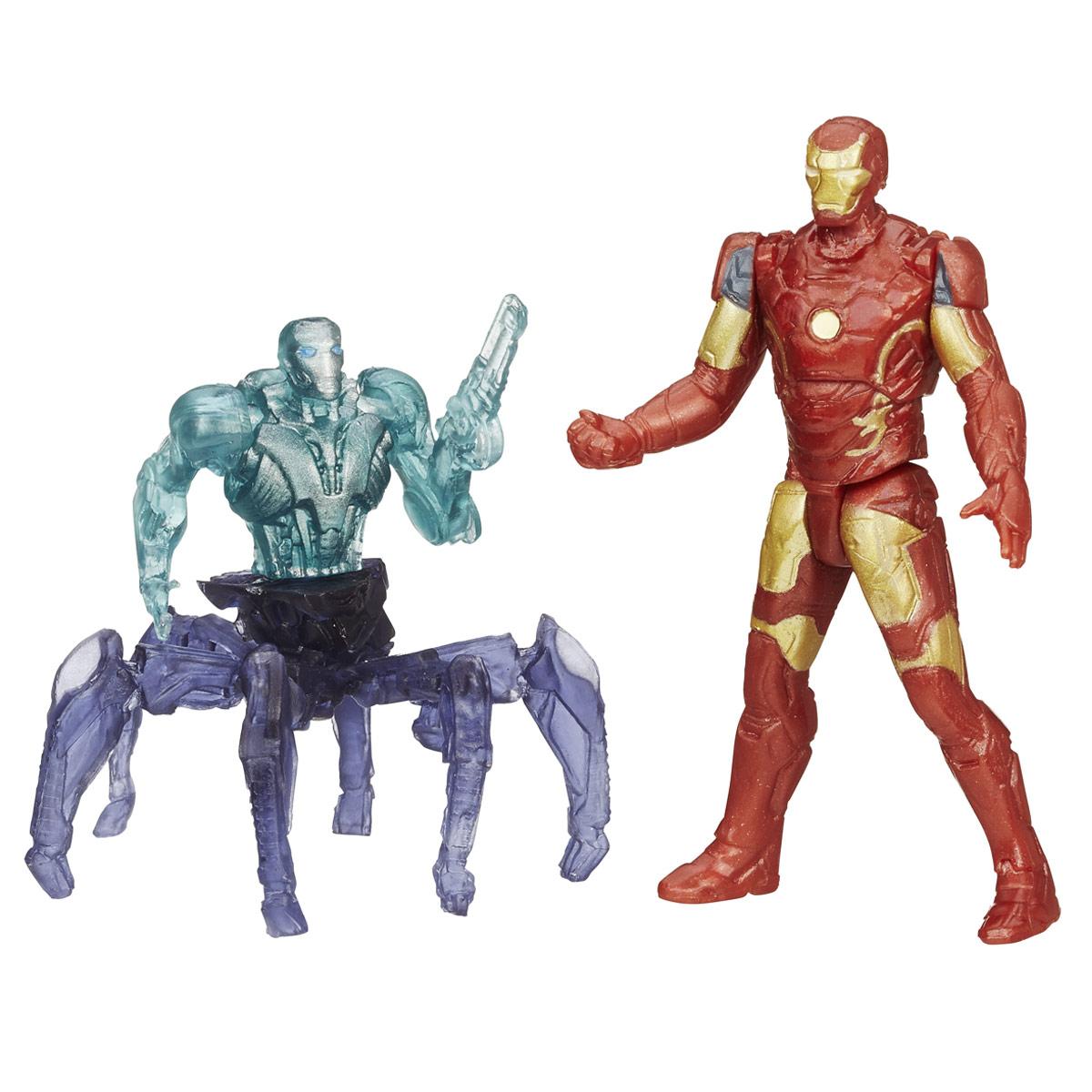 Мини-фигурка Avengers Iron Man Mark 43, с аксессуарамиB5768EU4_B1482Мини-фигурка Avengers Iron Man Mark 43 непременно привлечет внимание вашего ребенка и не позволит ему скучать. Фигурка выполнена в виде супергероя Железного Человека из команды Мстителей. В комплект также входят элементы для сборки фигурки Sub-Ultron 001. Фигурка выполнена из прочного безопасного пластика. Она в точности повторяет внешний вид героя фильма. Голова, руки и ноги фигурки подвижны, что позволяет придавать ей различные позы и открывает малышу неограниченный простор для игр. Соберите все мини-фигурки героев Marvel от Hasbro, и соедините фигурки Sub-Ultron в большого боевого робота! Небольшие размеры фигурки позволят ребенку брать ее с собой на прогулку и в гости, так что малышу не придется расставаться со своей игрушкой. Он проведет множество счастливых мгновений, играя с ней и придумывая различные истории.
